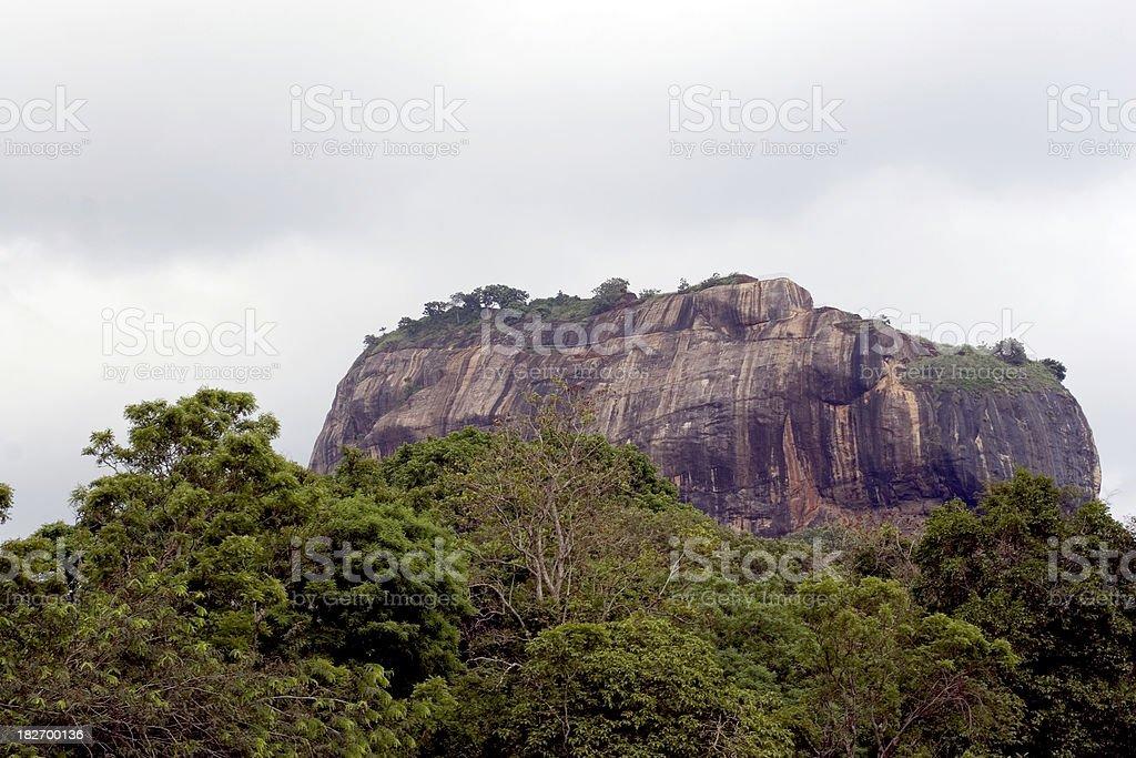 Sri Lanka: Sigiriya royalty-free stock photo