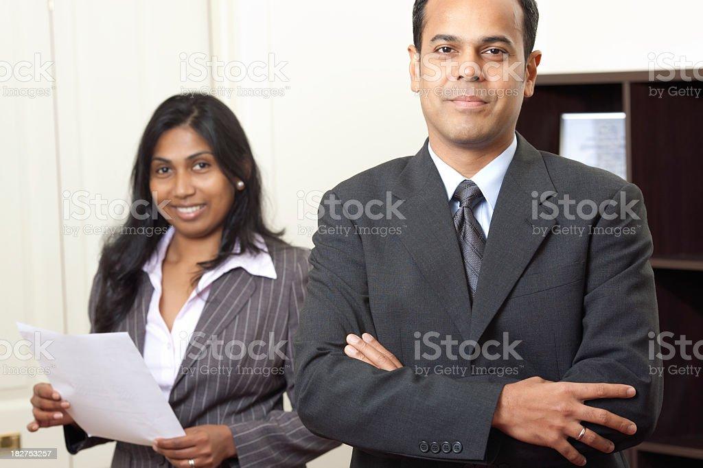 Sri Lankan business team stock photo