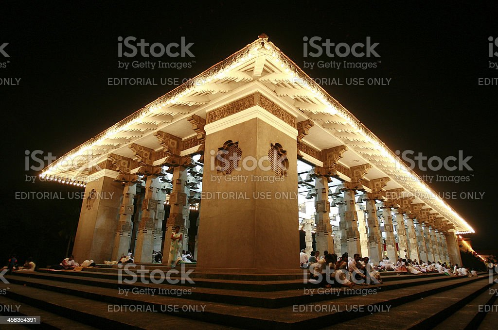 Sri Lankan landmark stock photo