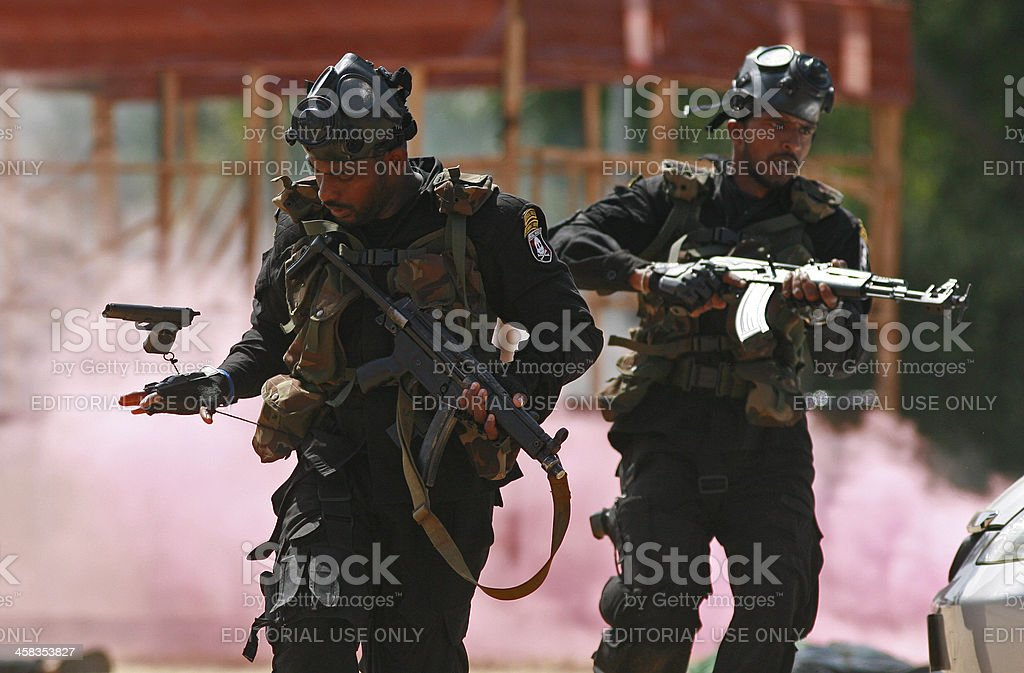 Sri Lankan Special Forces stock photo