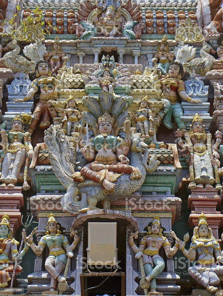 Sri Mahamariamman hindi temple, Georgetown, Penang, Malaysia stock photo
