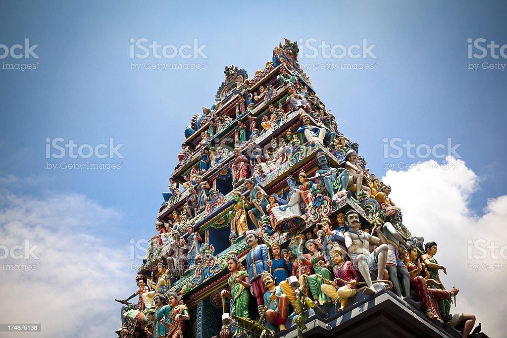 sri mariamman temple singapore royalty-free stock photo