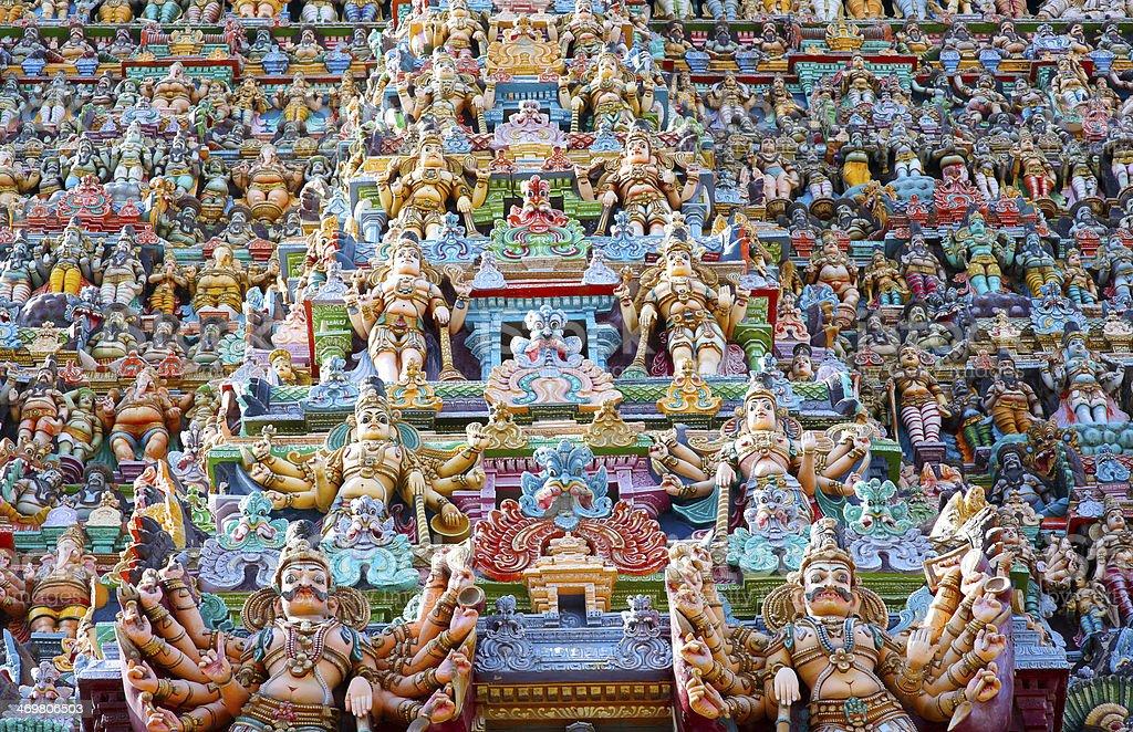 sri meenakshi temple, Madurai, India - Royalty-free Ancient Stock Photo