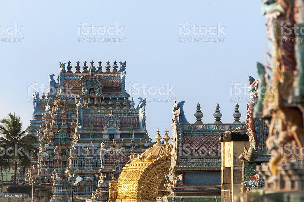 Sri Ranganathaswamy Temple, Tamil Nadu, India. royalty-free stock photo