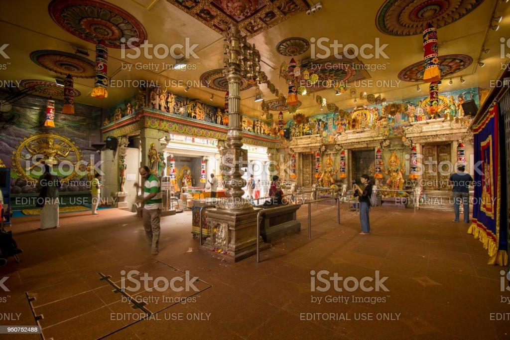 Sri Veeramakaliamman Temple stock photo