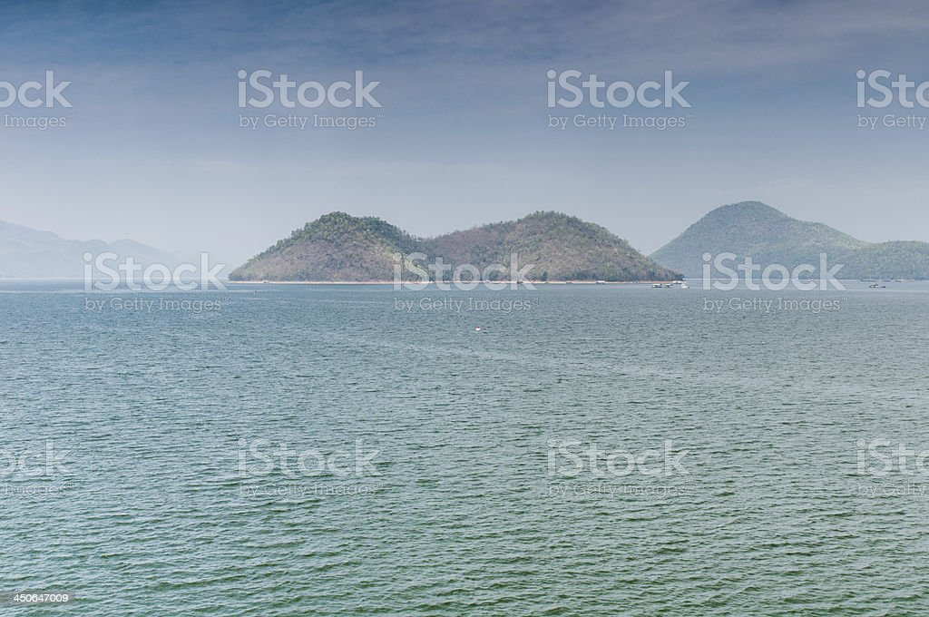 Srinakarin dam,Thailand royalty-free stock photo