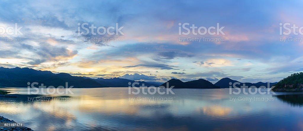 Srinakharin dam foto stock royalty-free
