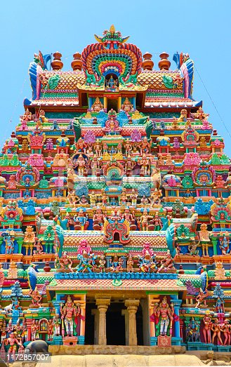 Srirangam, is one of the most famous temples of Lord Vishnu