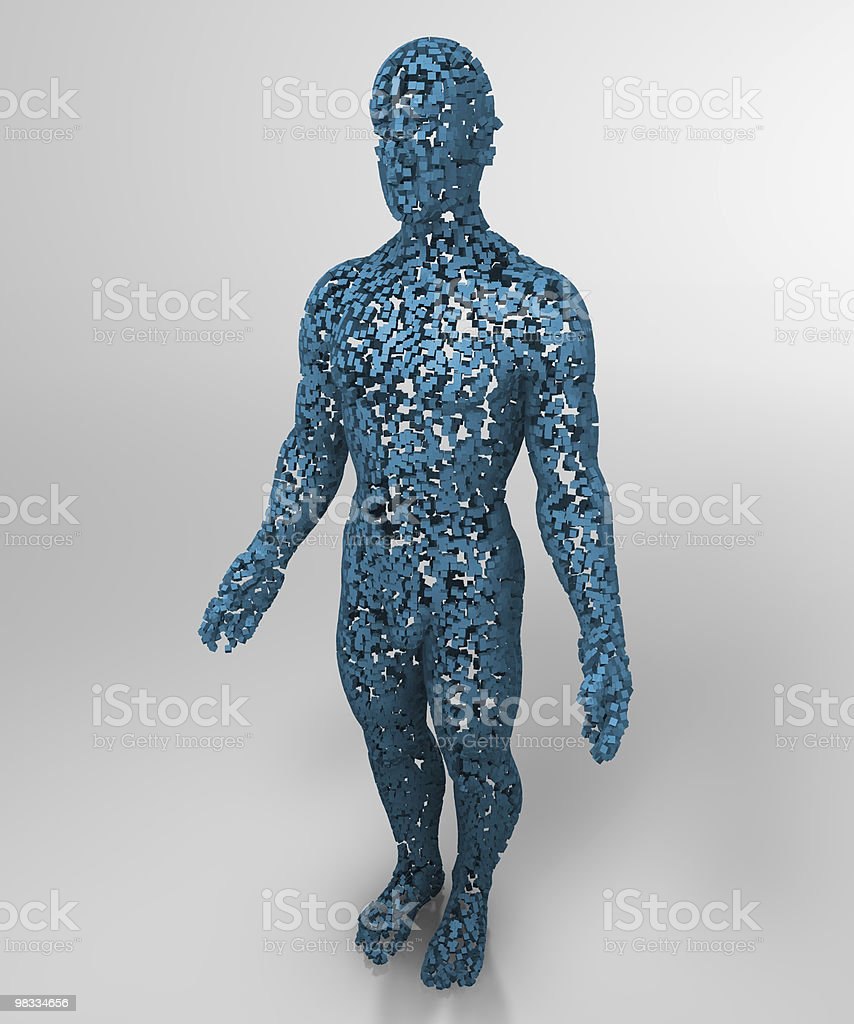 sructure man royalty-free stock photo