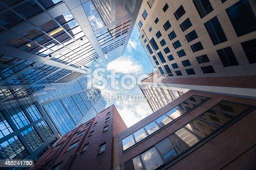 istock Sskyscrapers in city 485241780