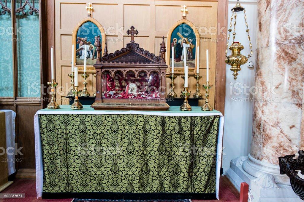 St Agnes Relic stock photo