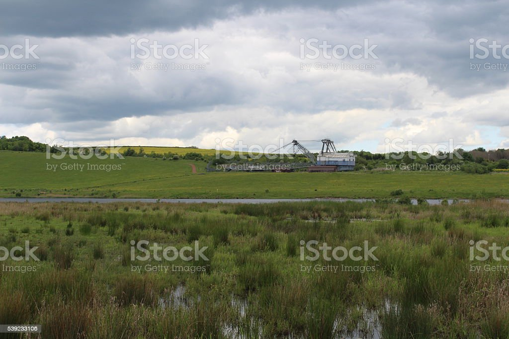 St Aidans Nature Reserve royalty-free stock photo