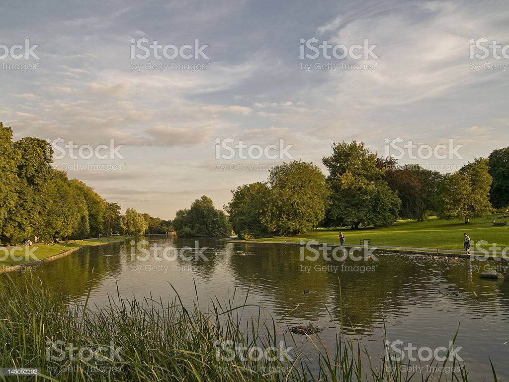 St Albans Park - Royalty-free British Culture Stock Photo