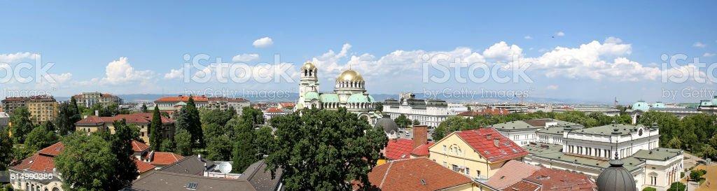 St. Alexander Nevsky Cathedral stock photo