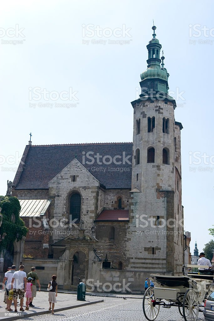 St. Andrew Church royalty-free stock photo