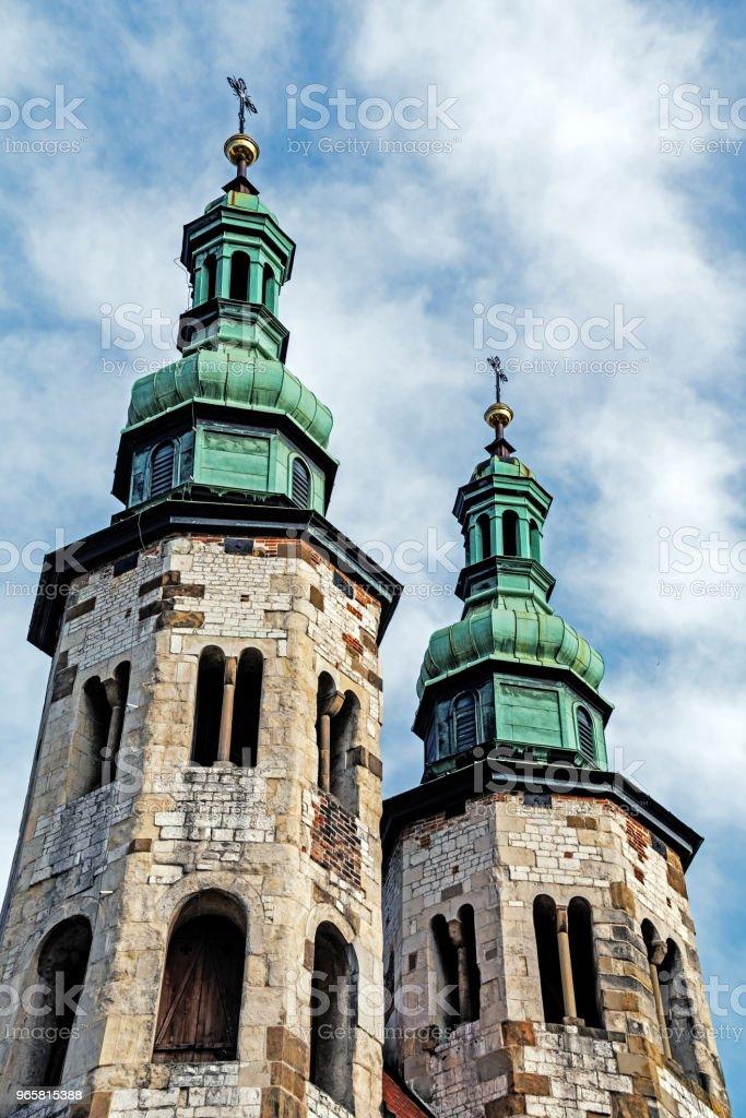 Kerk van St. Andrew - Royalty-free Antiek - Toestand Stockfoto