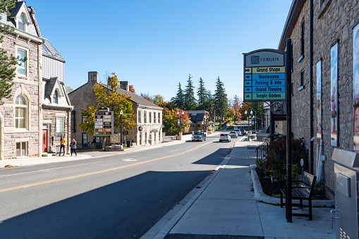Fergus is the largest community in Centre Wellington, a township within Wellington County in Ontario, Canada.