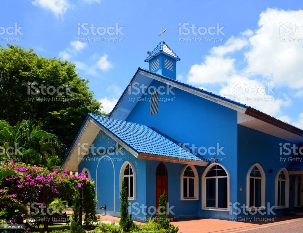 St. Andrew's Anglican church, Bandar Seri Begawan, Brunei Daruss stock photo