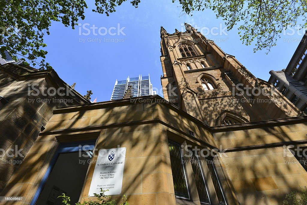 St Andrew's Catedral royalty-free stock photo