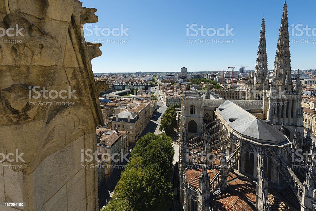 St. Andrew's Cathedral royalty-free stock photo