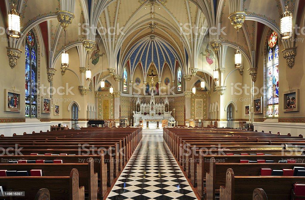 St. Andrew's Catholic Church stock photo
