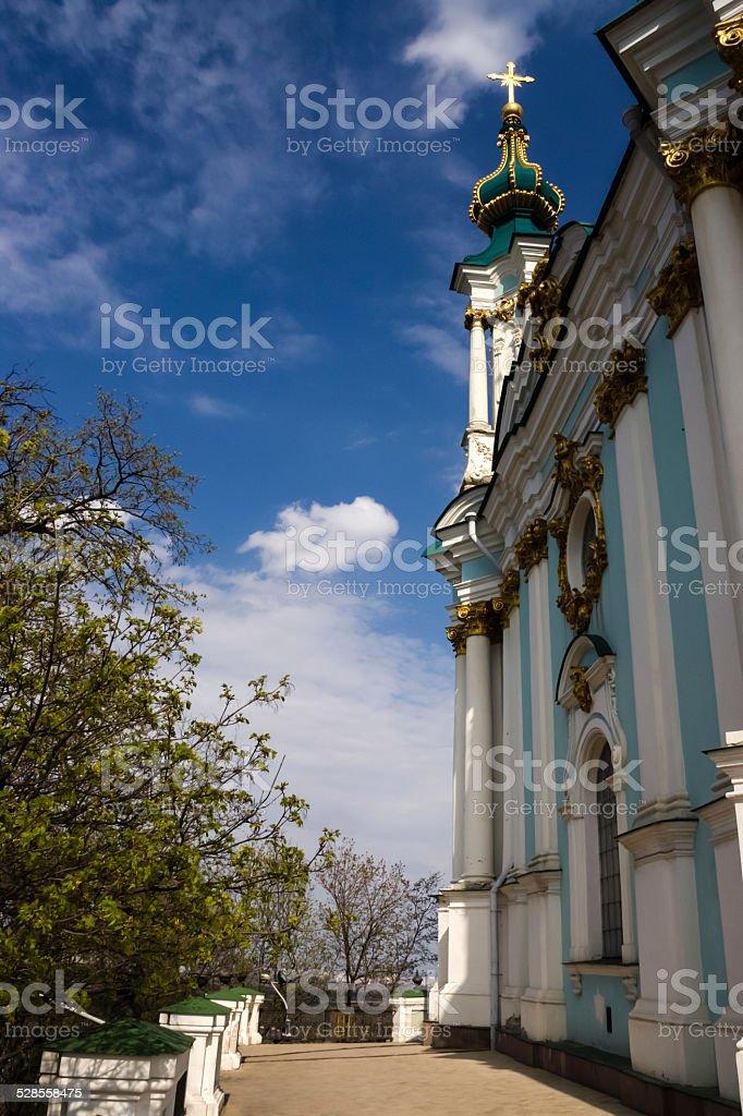 St Andrew's Church, Kiev stock photo