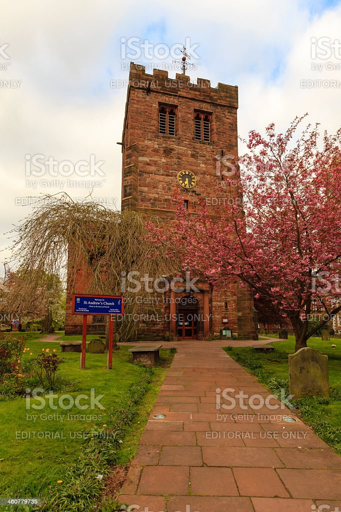 St Andrew's Church royalty-free stock photo