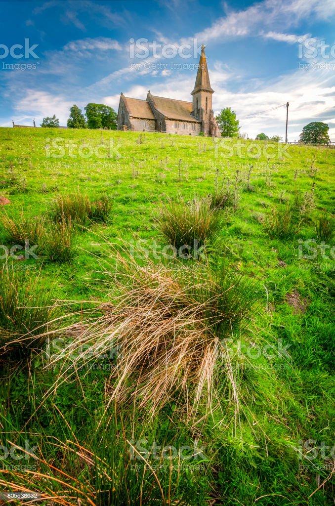St Andrew's Church stock photo