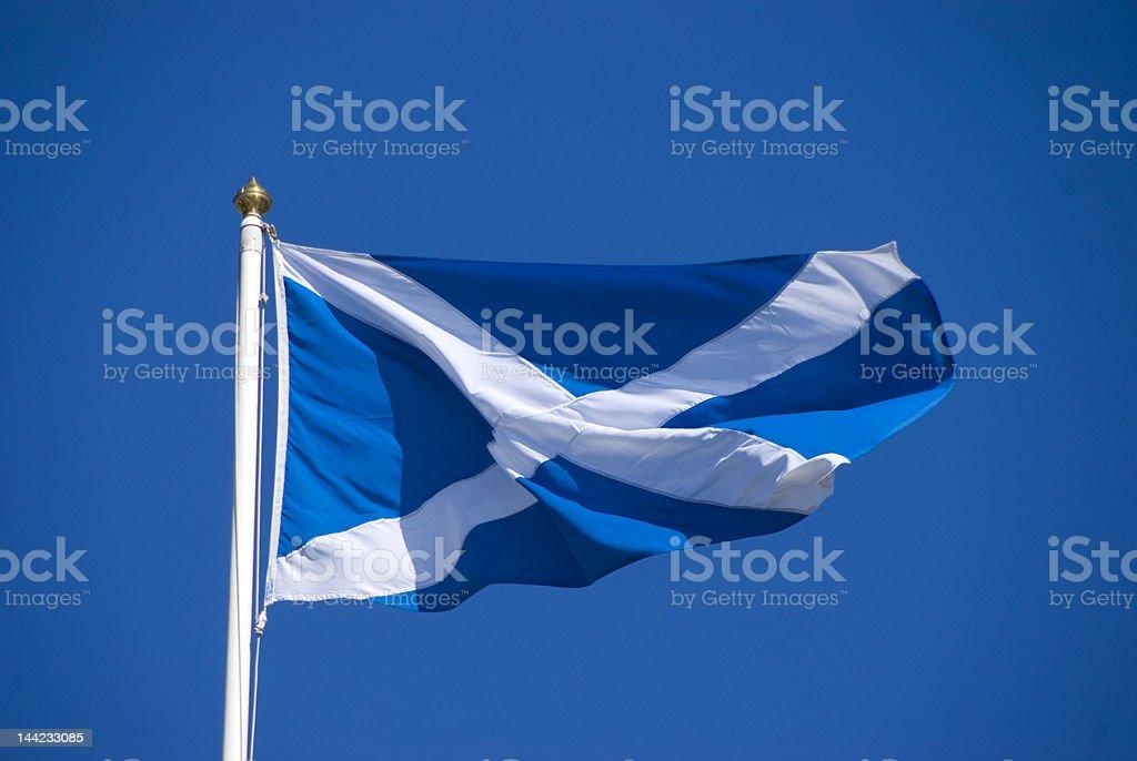 St Andrew's Cross saltire flag of Scotland stock photo