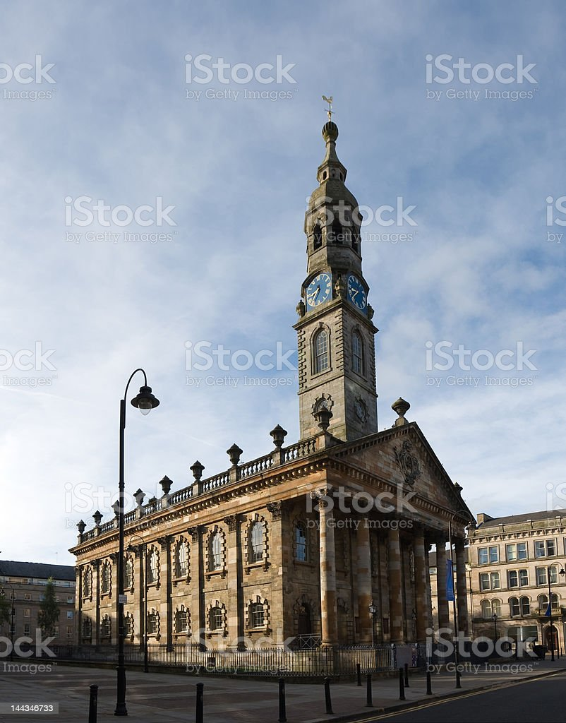 St Andrews in the Square, Glasgow stock photo