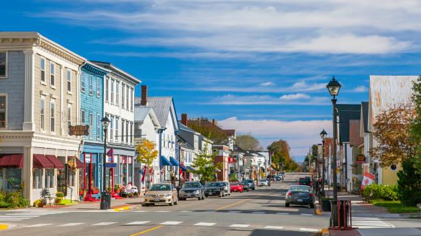 St. Andrews - New Brunswick, Canada stock photo