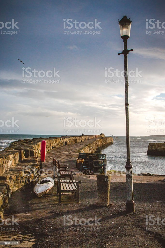 St. Andrews Pier royalty-free stock photo
