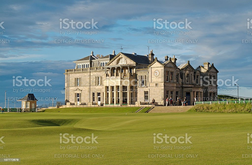 St. Andrews R&A Golf Club stock photo
