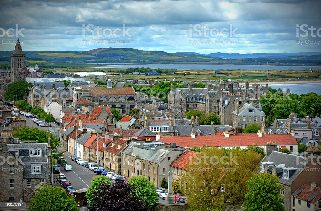 St. Andrews Scotland royalty-free stock photo