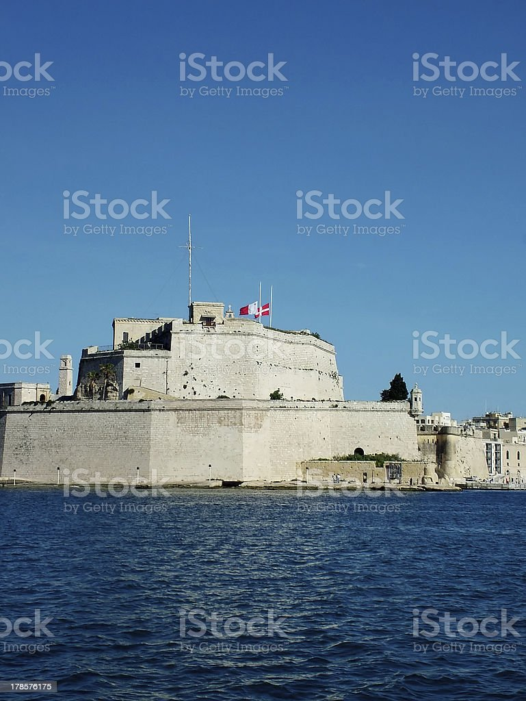St Angelo royalty-free stock photo