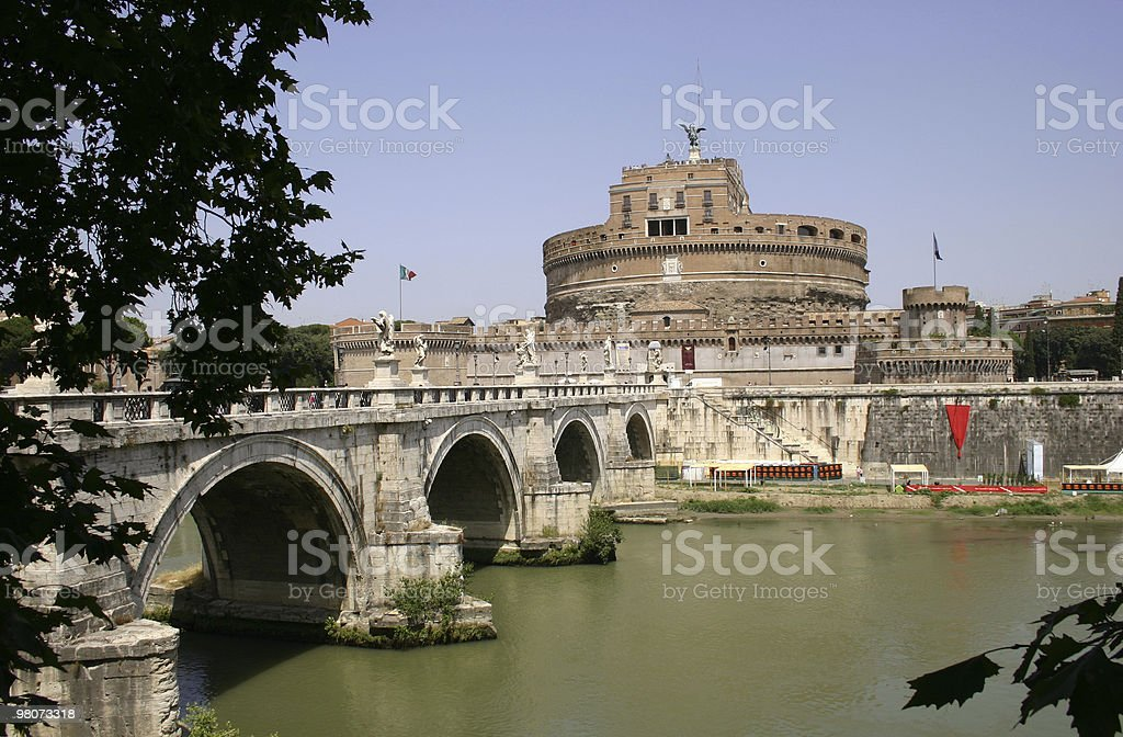St. Angelo's Castle royalty-free stock photo