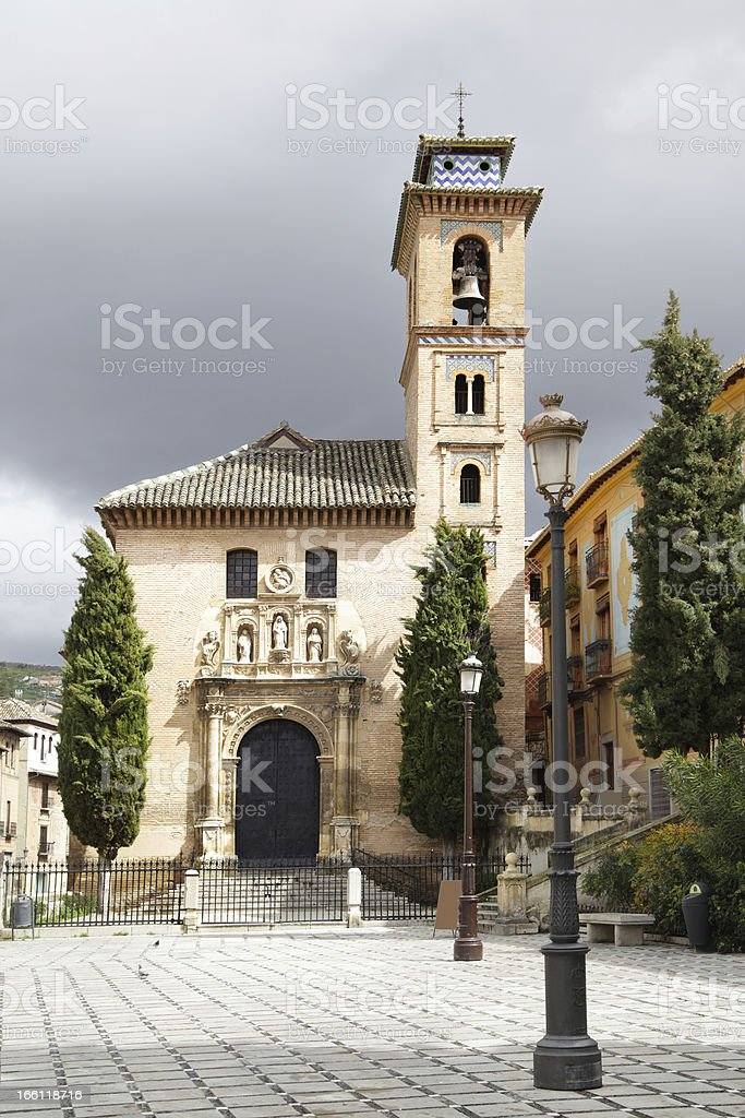 St. Anna church royalty-free stock photo