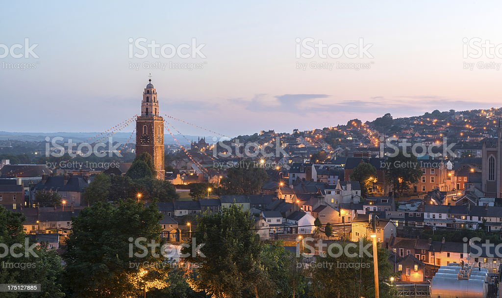 St Anne's church in Shandon, Cork stock photo