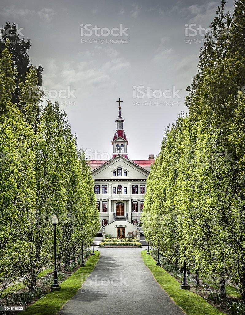 St. Ann's Academy stock photo