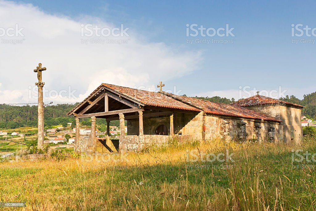 St. Anthony Abbot hermitage stock photo