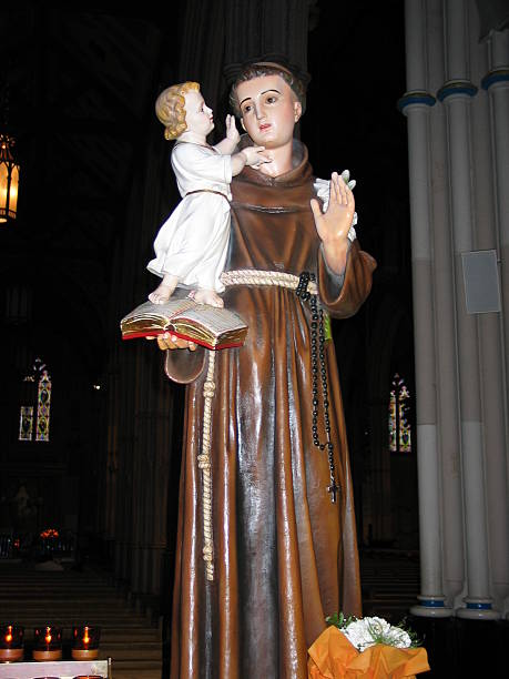 St Anthony with the child Jesus