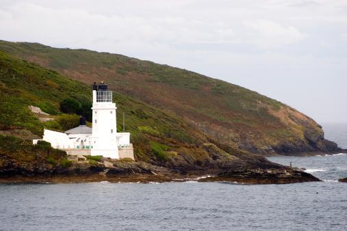St Anthony's Lighthouse, Falmouth, Cornwall, UK