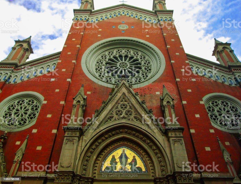 St Antoine Catholic Church Taksim Istanbul Stock Photo