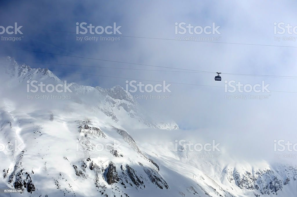 St Anton Skiing stock photo