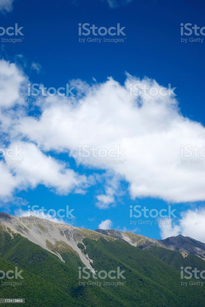 St Arnaud Ranges, Nelson Lakes National Park, NZ royalty-free stock photo