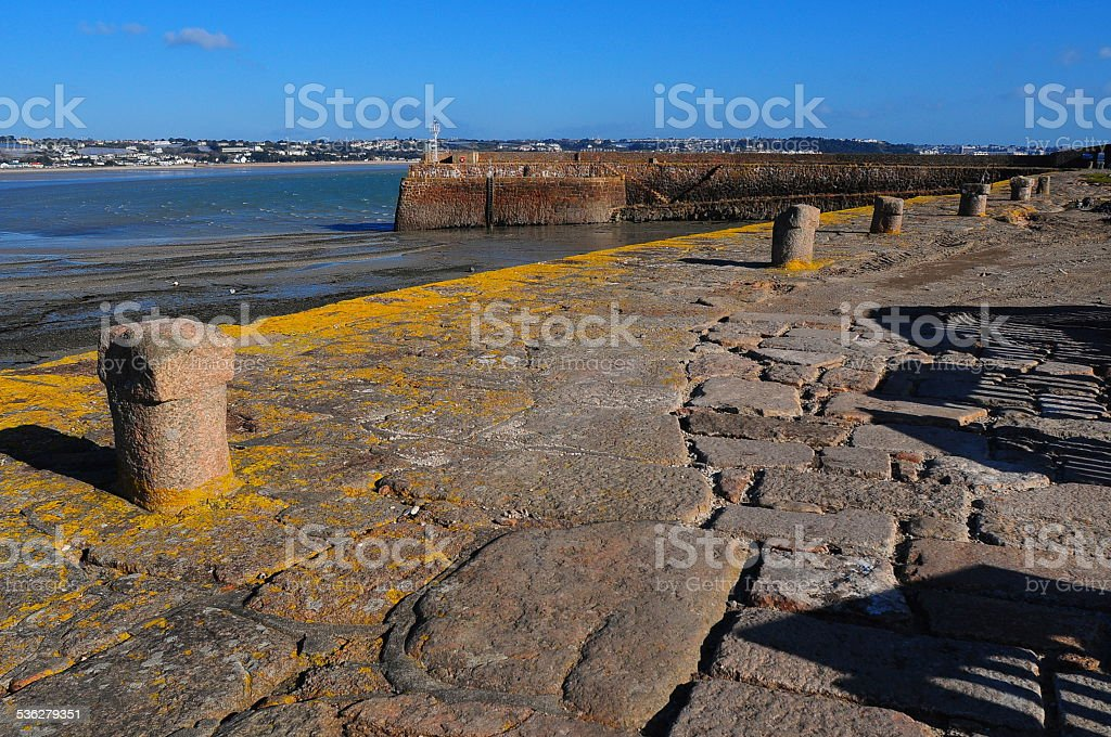 St. Aubin's Fort, Jersey, U.K. stock photo