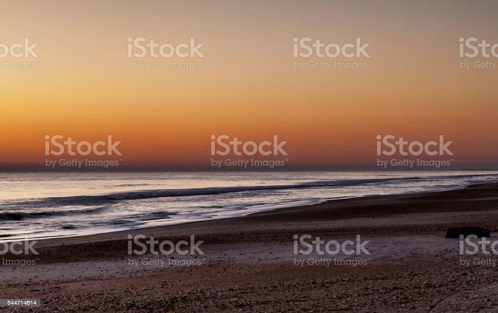 St. Augustine Beach stock photo