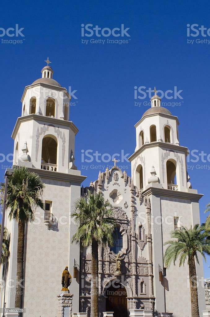St Augustine Cathedral royalty-free stock photo