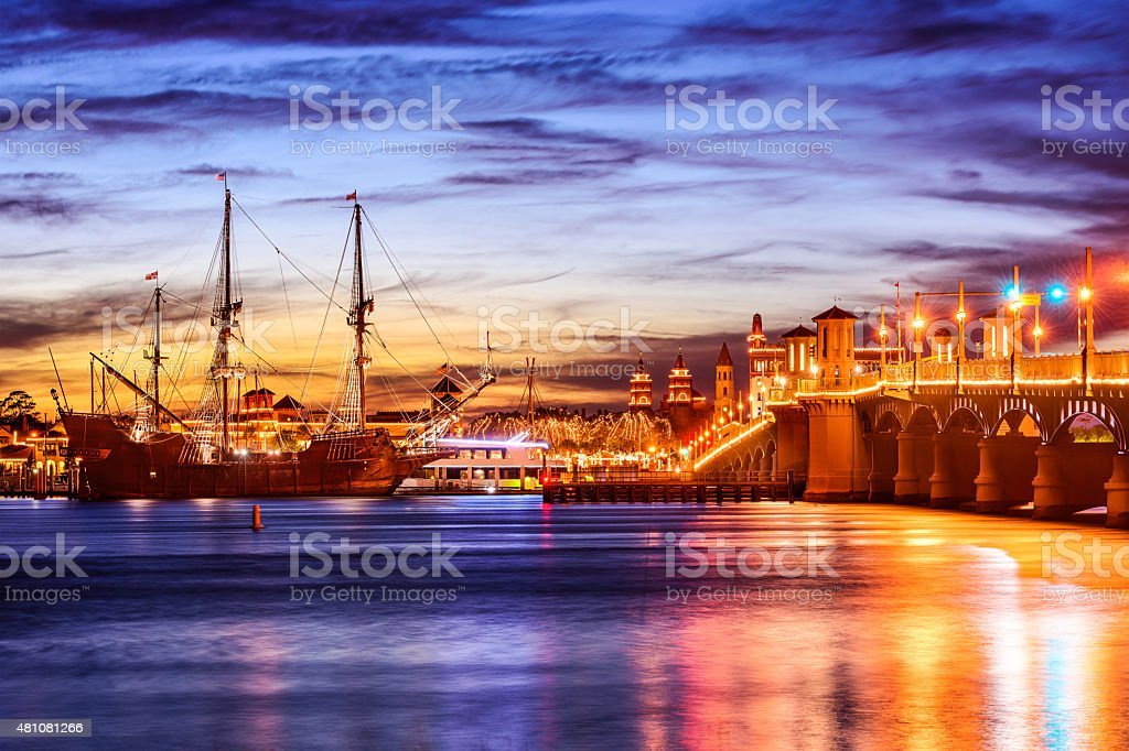 St. Augustine Florida stock photo