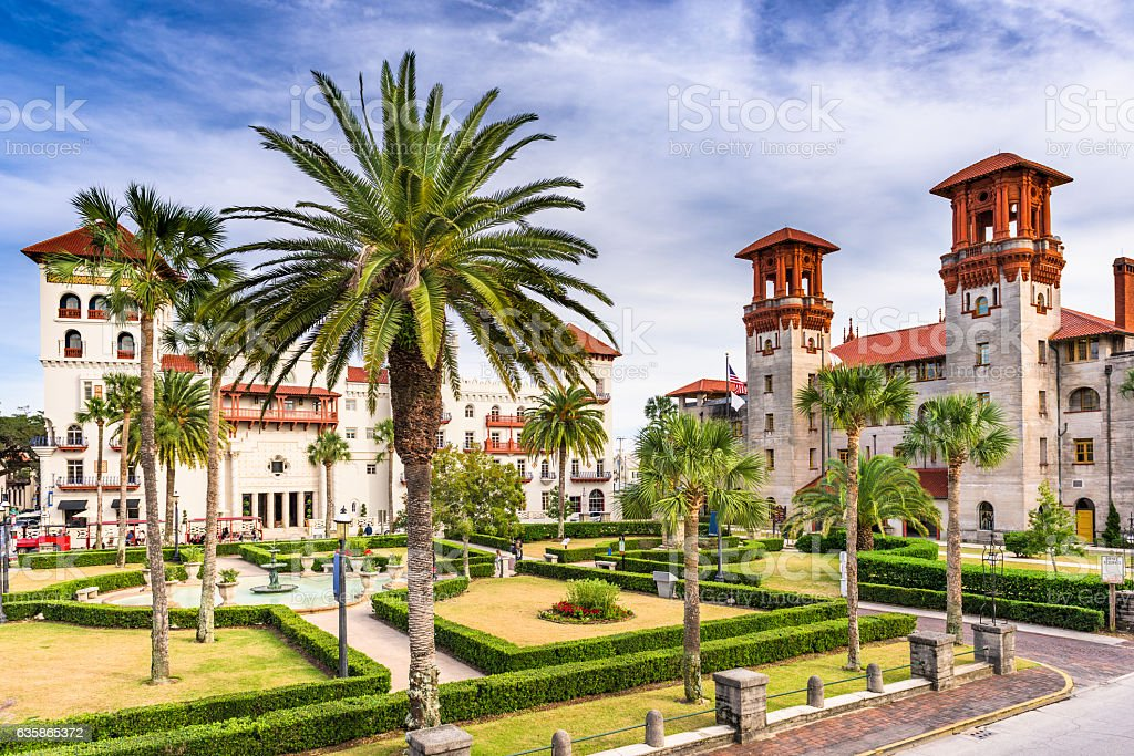 St. Augustine Florida royalty-free stock photo